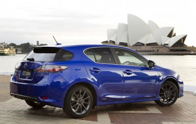 Although A Lexus Ct 200h F Sport Hybrid Car M Comes With Diffe Designs Further Highlight The Impression Of Sports Addition Rear Wing