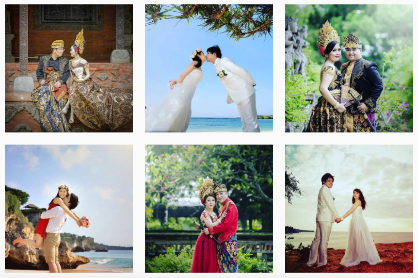 Photo video prewedding bali paket rias make up hairdo bridal murah