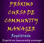 Apúntate al próximo curso de community manager
