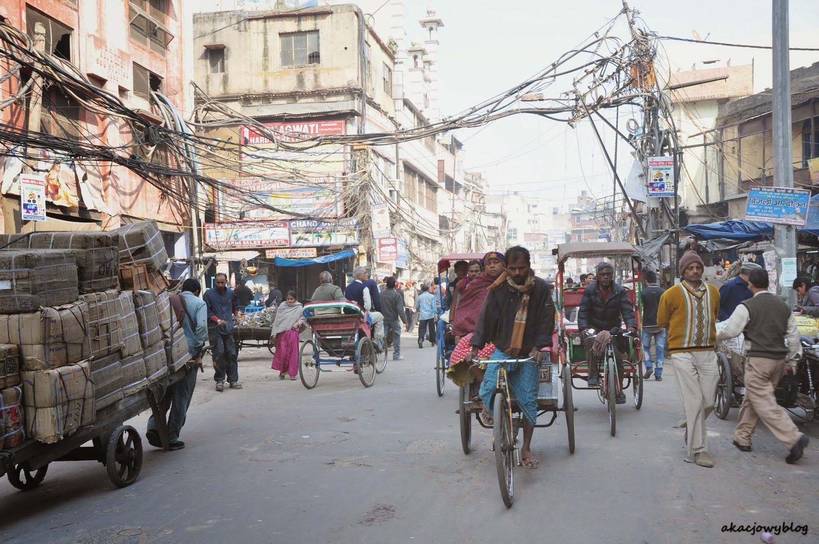 Indie - uroki Old Delhi.
