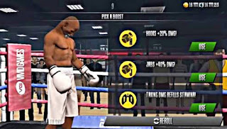 Real boxing lobby image