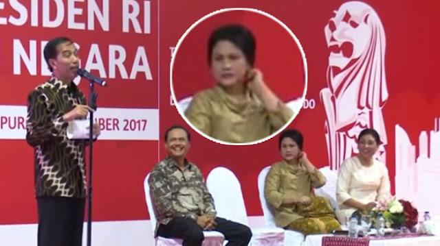 Iriana Gelisah Kodenya Tidak Ditanggapi Jokowi