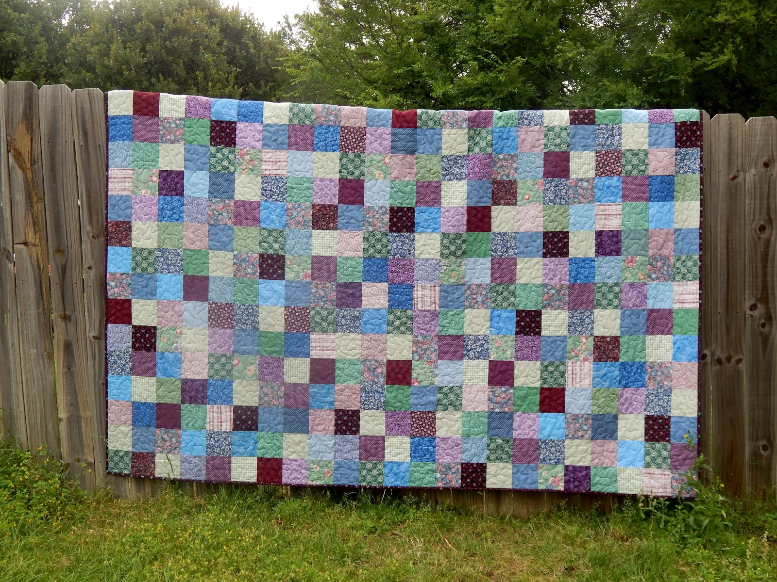 The Fleming S Nine Old Fashioned Patchwork Quilt