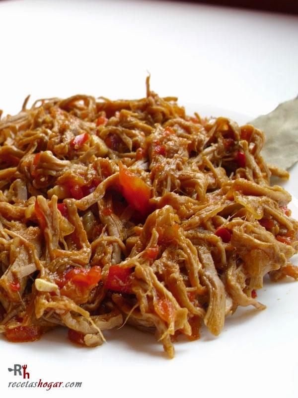receta de salsa facil para carne mechada