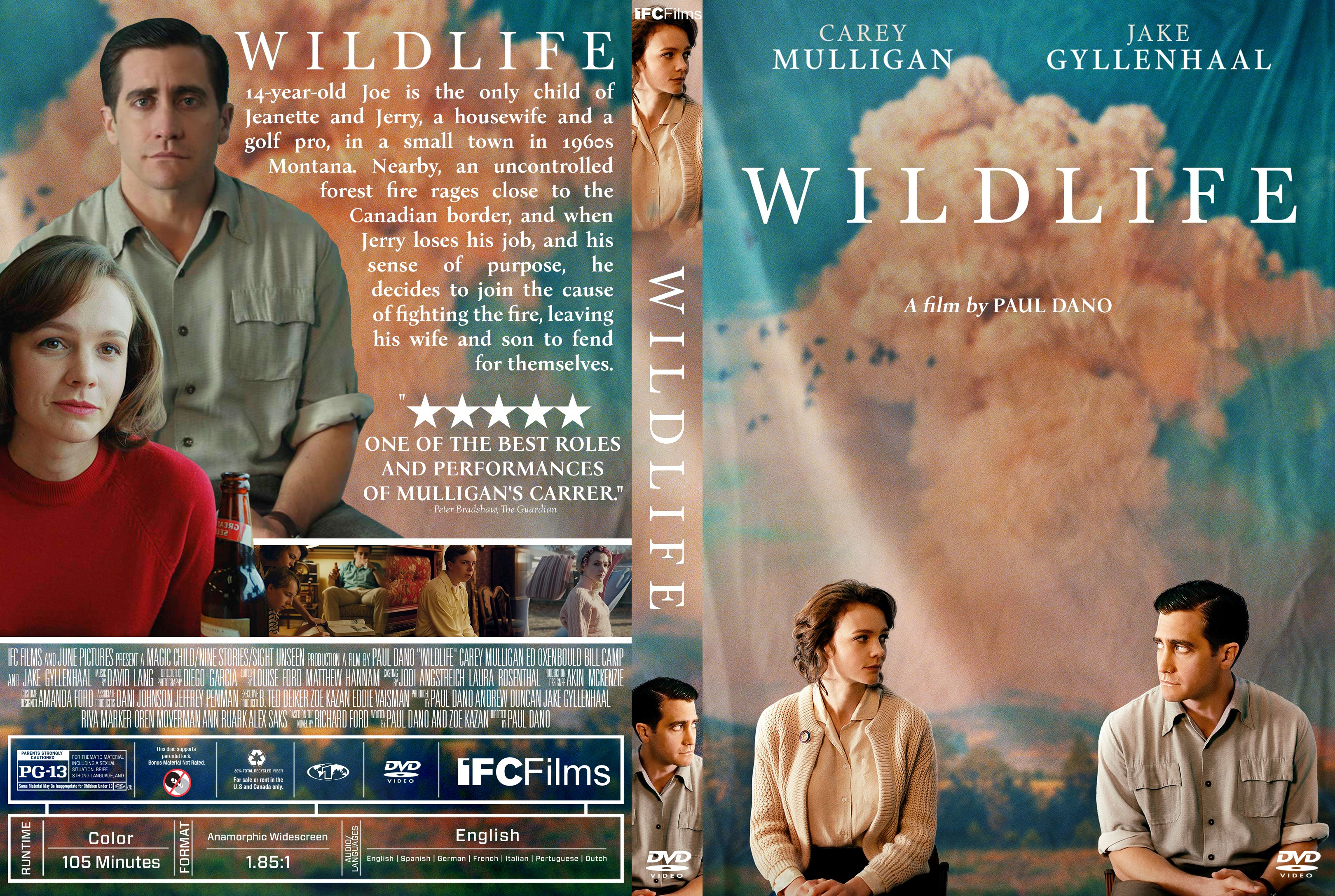 Wildlife DVD Cover | Cover Addict - Free DVD, Bluray ...