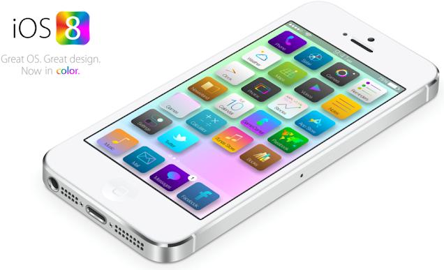 Apple iOS 8 iPhone 6