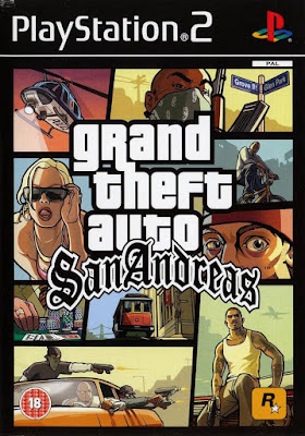 Grand Theft Auto San Andreas 2007 PS2 Multi Spanish