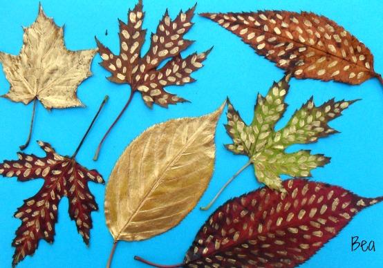 Malowne liście