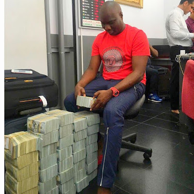 Lagos Big Boy & Owner Of Mompha Bureau De Change, Ismaila Who Is Times Five  Richer Than Hushpuppi
