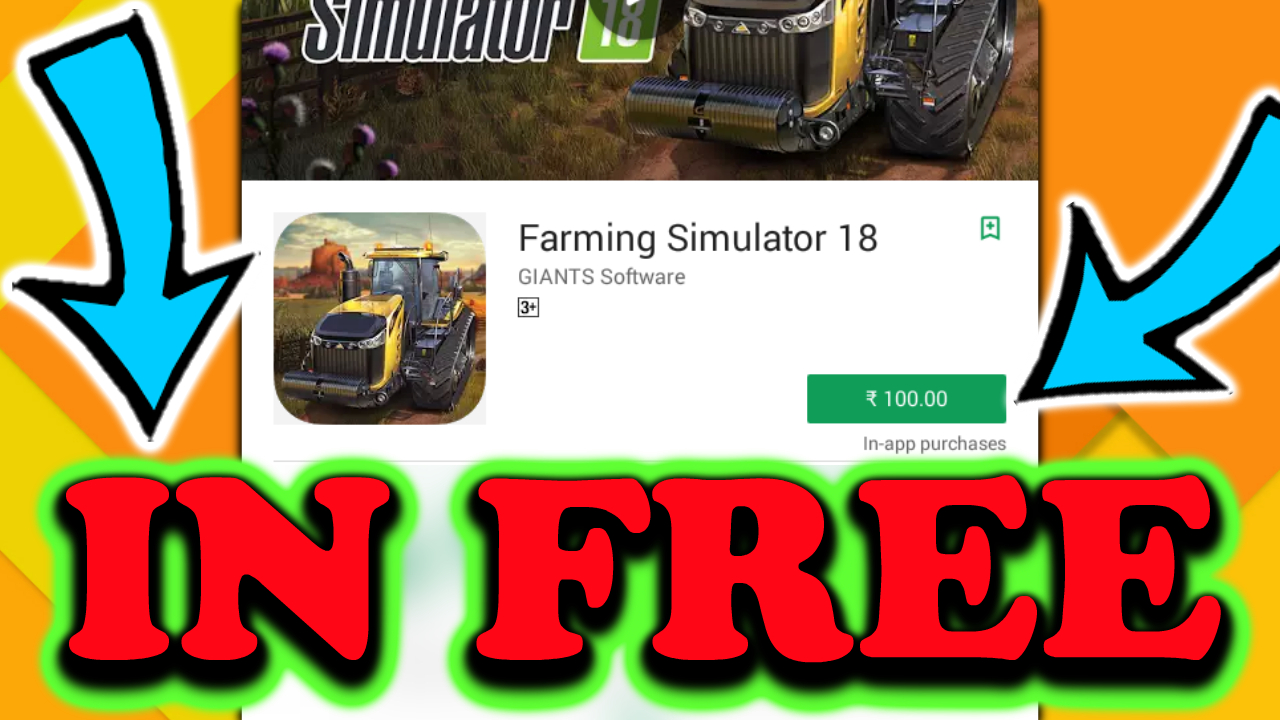 Farming Simulator 18 For Android Apk And Obb
