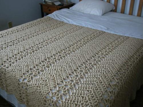Grandma's Lacy Ripple - Free Pattern