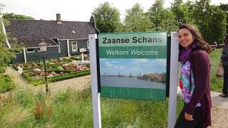 Zaanse Schans Moinhos e Tamancos holandeses