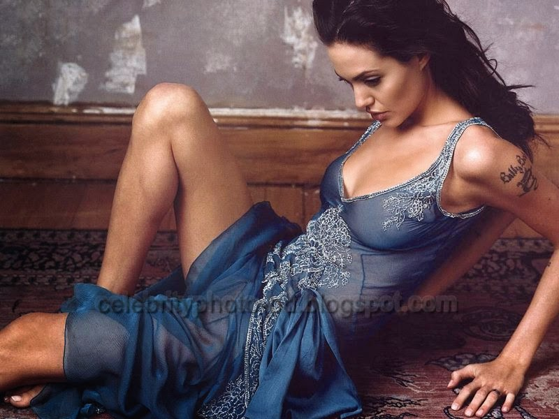 Sexy Popular Model Angelina Jolie's Latest HD Pictures 2014
