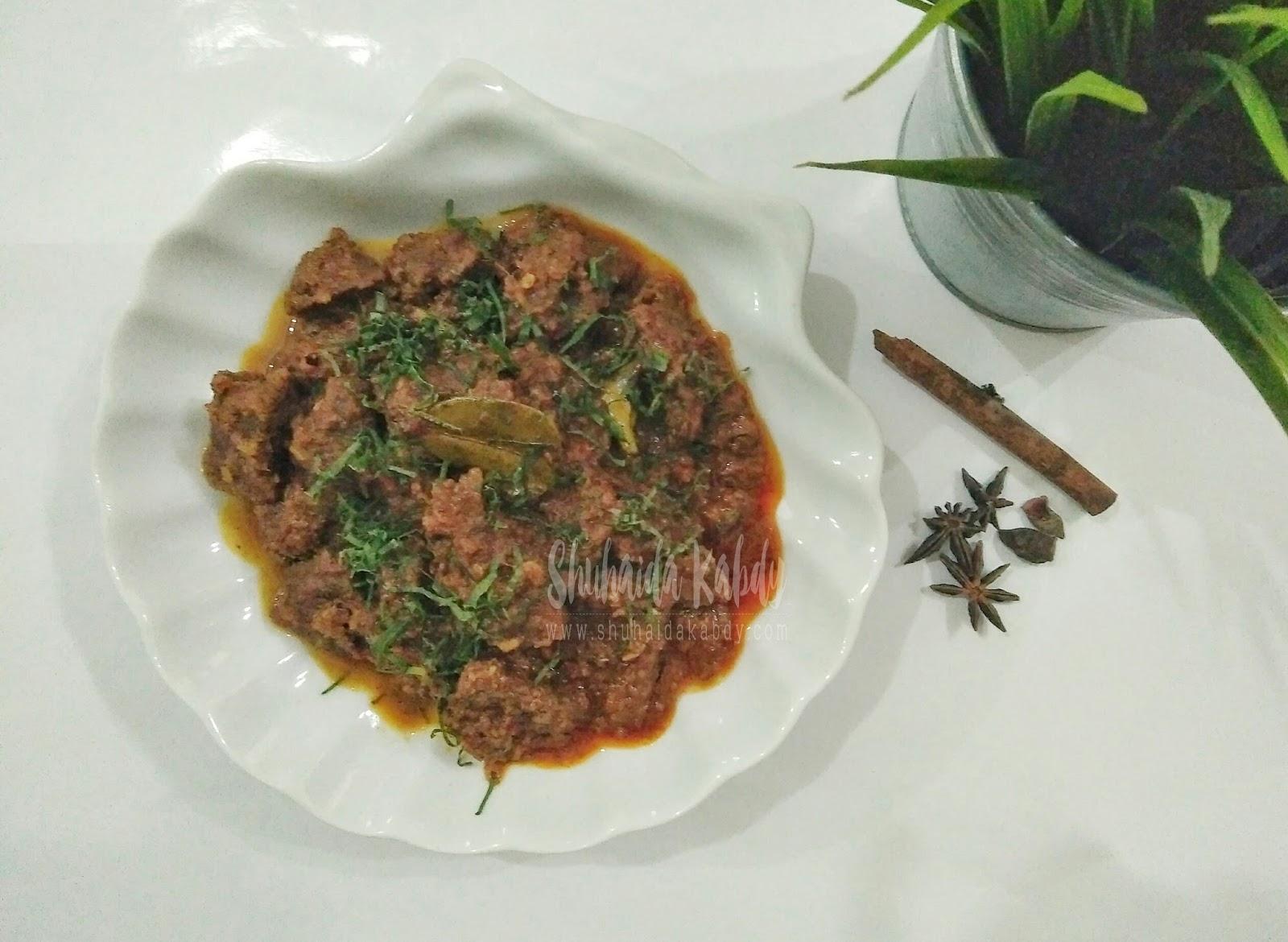 Resepi Rendang Daging Jawa - Kota Joglo