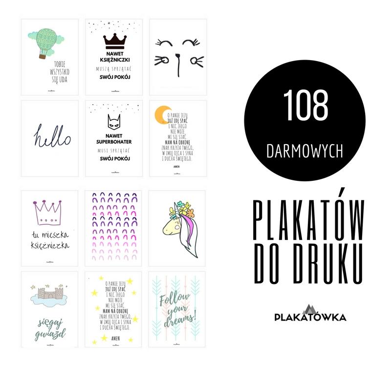 108 Plakatów Do Wydruku Domowego Za Darmo Plakatówka