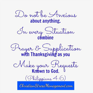 I will not be anxious about anything. (Adapted Philippians 4:6)