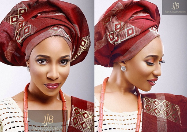 tonto dikeh native traditional wear