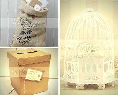 splendide scatole porta buste o da utilizzare come contenitori per guestbook fotografici o alternativi