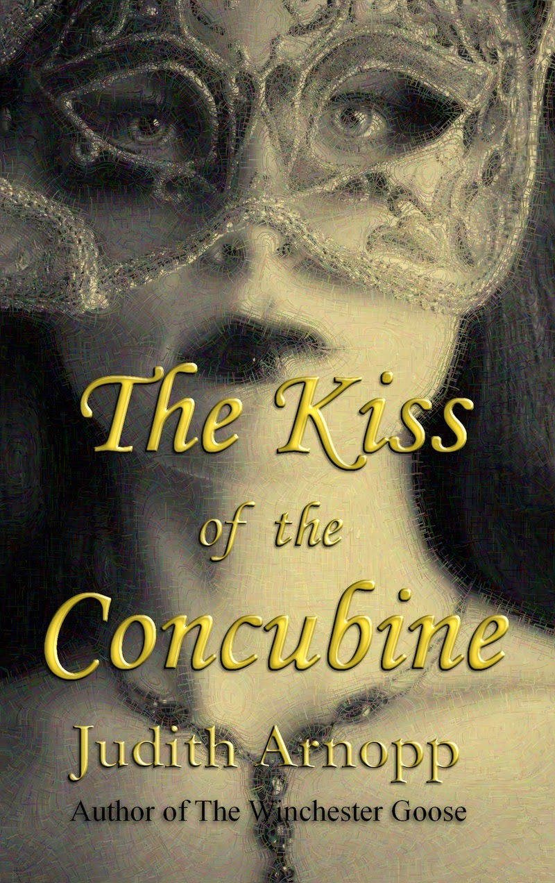 The Kiss of the Concubine by Judith Arnopp