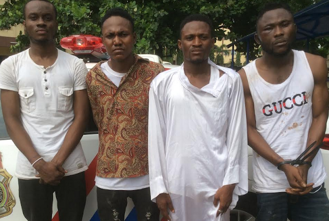 lagos most wanted yahoo boys arrested
