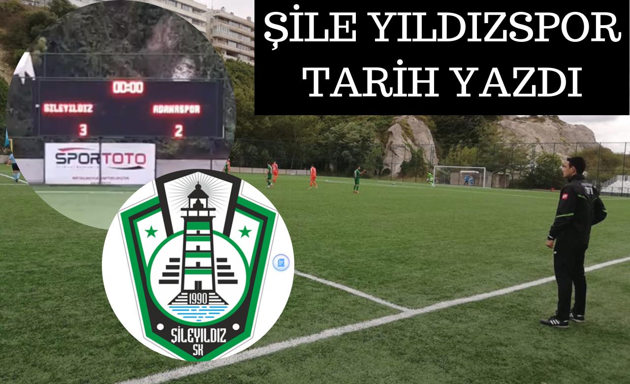 Şile Yıldızspor 3.Tur'da, Adanaspor'u Yenerek Bir Üst Tura Yükseldi.