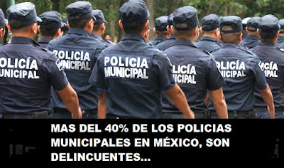 falsos policías en México