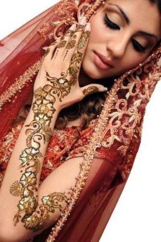 Arabic Bridal Mehndi Design