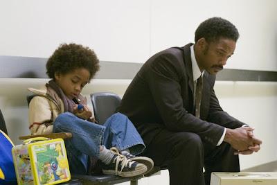A Procura da Felicidade Will Smith pai e filho