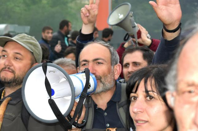 Пашинян избран новым премьером Армении
