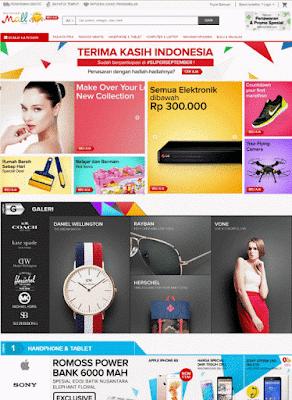 situs toko online mataharimall.com