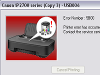 Cara Mudah Reset Printer Canon IP 2770 / IP2700 Blink 8x
