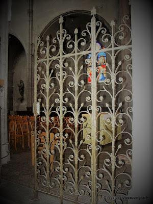 Eglise Notre-Dame du Marthuret de Riom.