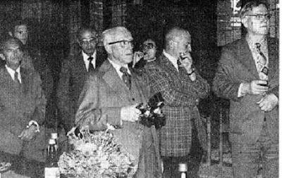 Benedek, Grevlund, Salazar, Argüelles, Odette, Gutman y Froberg en 1976