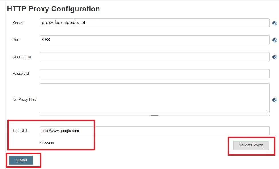 How to Configure Jenkins behind Proxy to Install Plugins