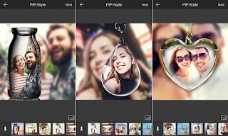 تطبيق PIP Camera Photo Editor Pro لاظافة اطارات وتأثيرات على الصور