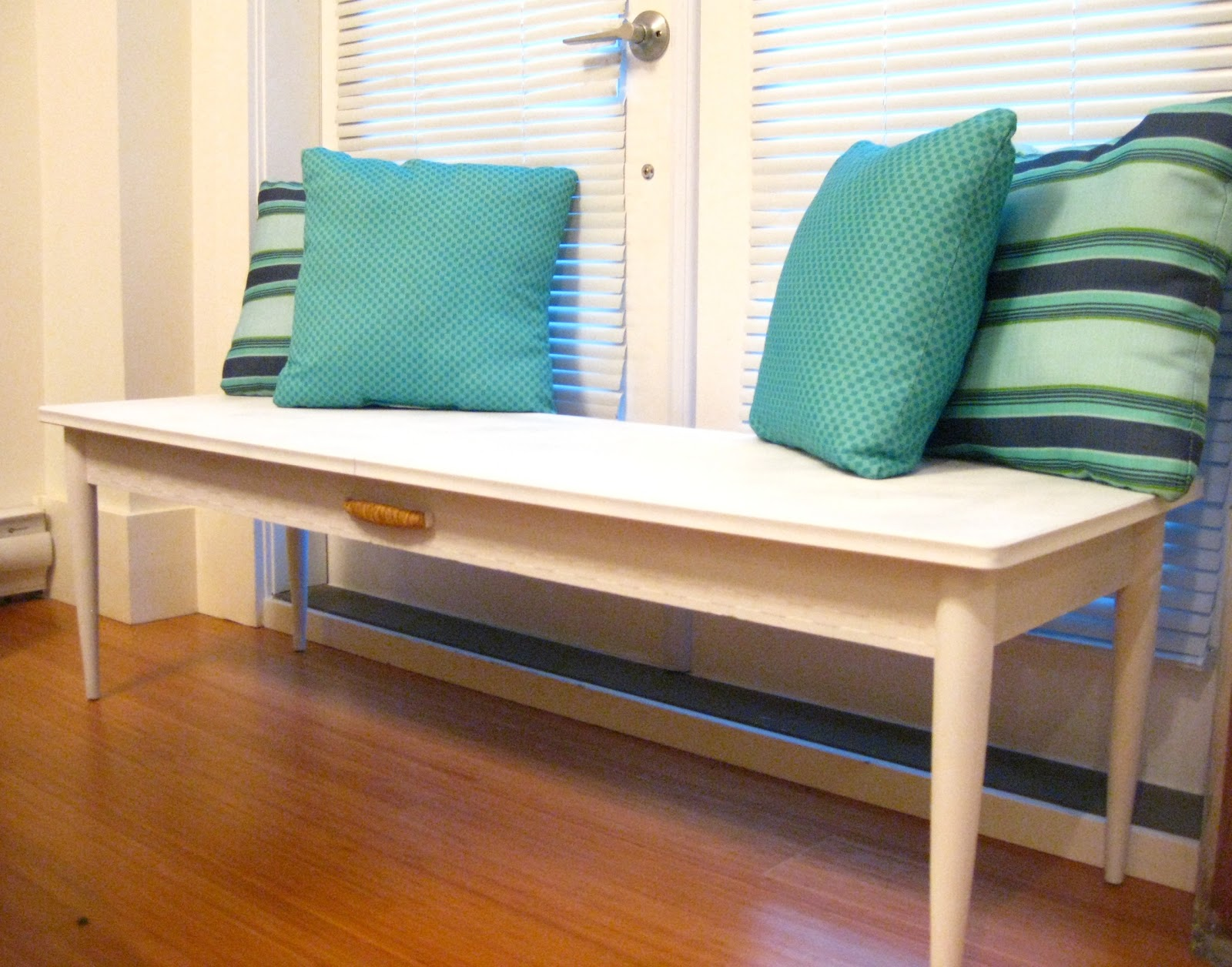 Life: Designed: Turn A Coffee Table Into A Bench!