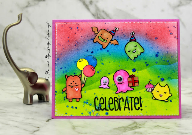 Me And My Daily Papercraft Blog - Handmade Card by PriCreated
