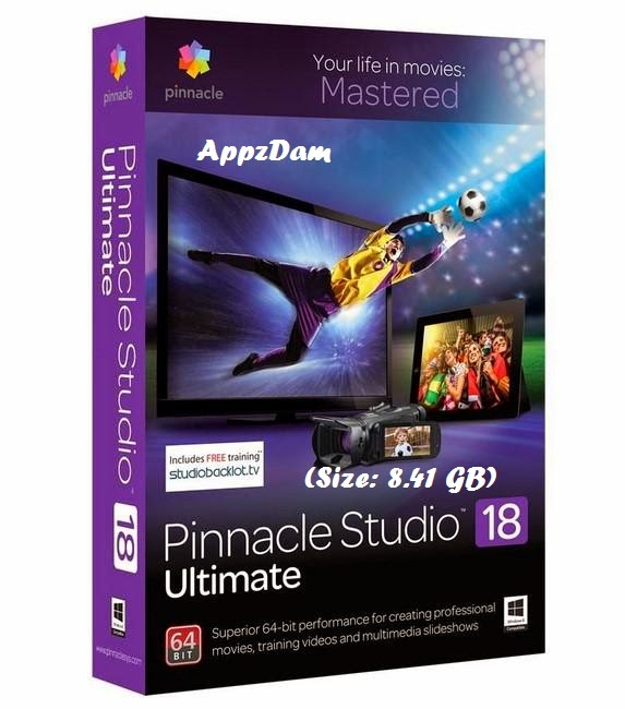 Pinnacle studio ultimate 18 5 multilanguage download for Pinnacle studio templates free download