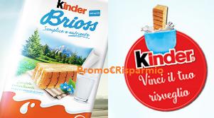 Logo Con Kinder Colazione vinci 1.000 forniture di merendine