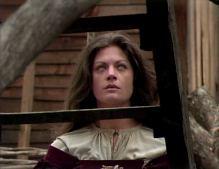 Here are some images of Meg Foster in The Scarlet Letter :
