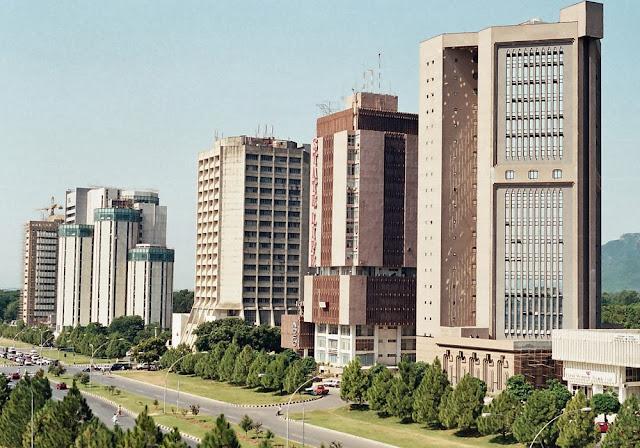 edifícios em Islamabad – Paquistão