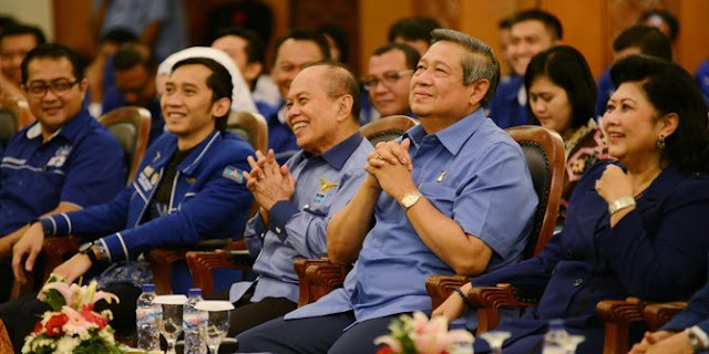 """SBY : """"Ada Orang Di Istana Ynag Tidak Senang Dengan Saya"""""""