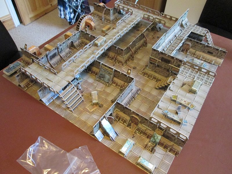 Sci Fi Stronghold : Crucium giger s miniatures build me a stronghold