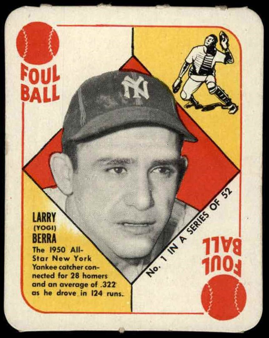 1951 Topps 1 Yogi Berra