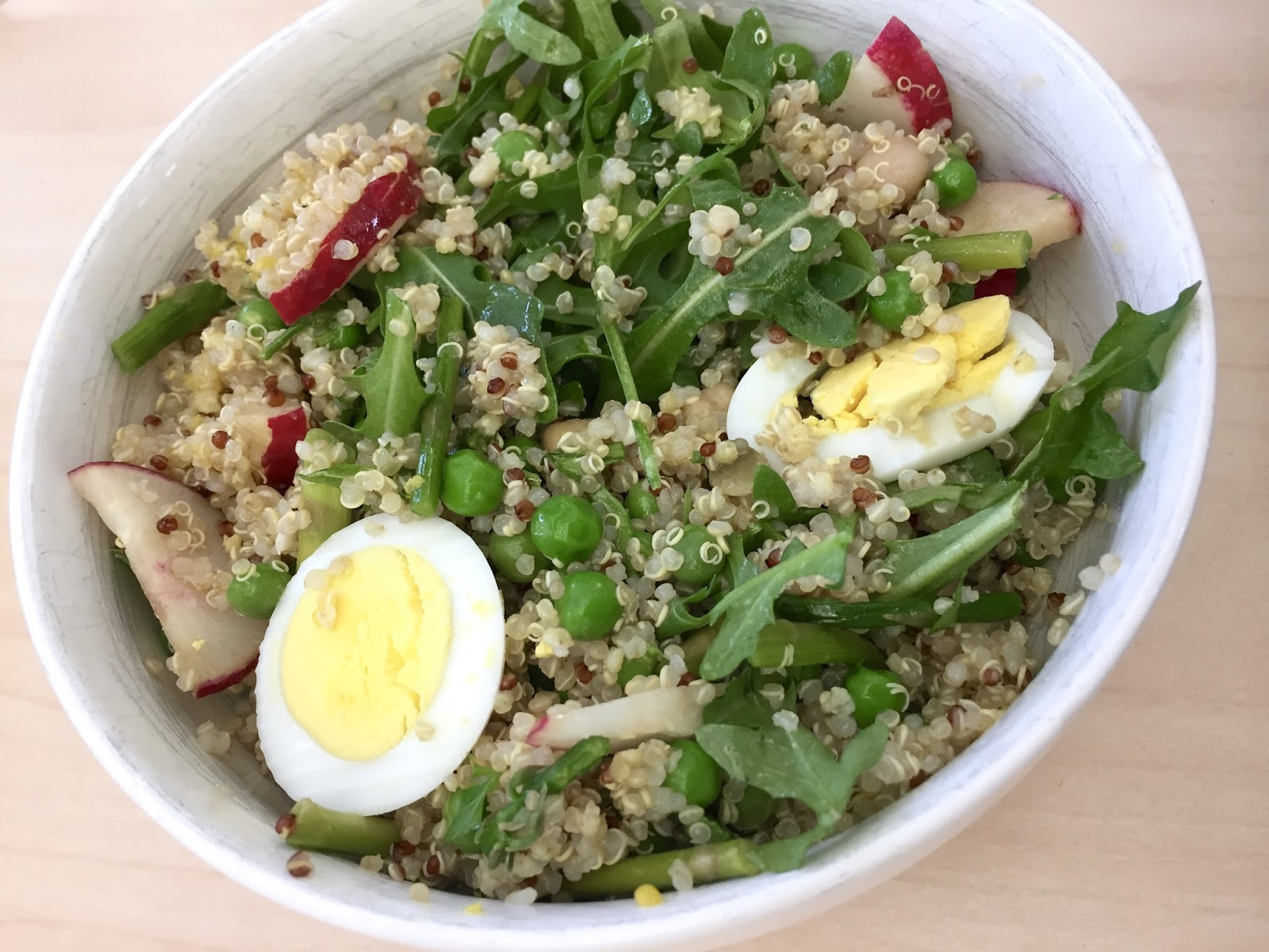 Kvell in the Kitchen: Spring Quinoa Bowl with Asparagus ...