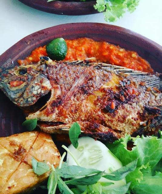 Ikan Mujahir sambel tomat lintasmojo.com