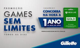 PROMOÇÃO GILLETTE E XBOX: GAMES SEM LIMITES   Blog Top da Promoção www.topdapromocao.com.br @topdapromocao #topdapromocao