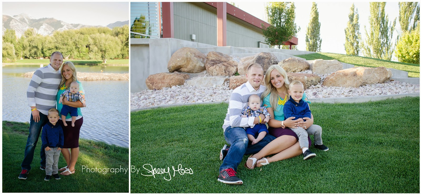 Logan Utah Family Photographer | Sanders Family at Logan River Golf Course