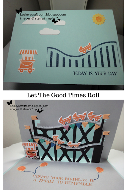 let the good times roll, stampin' up!