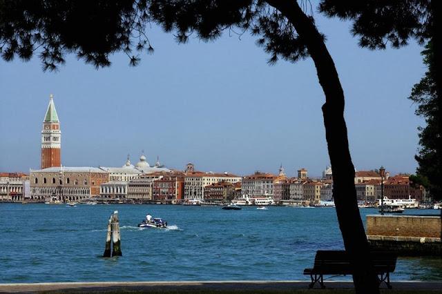 Vista de Veneza em Sant'Elena